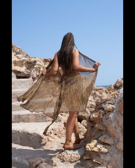 Long pareo dress